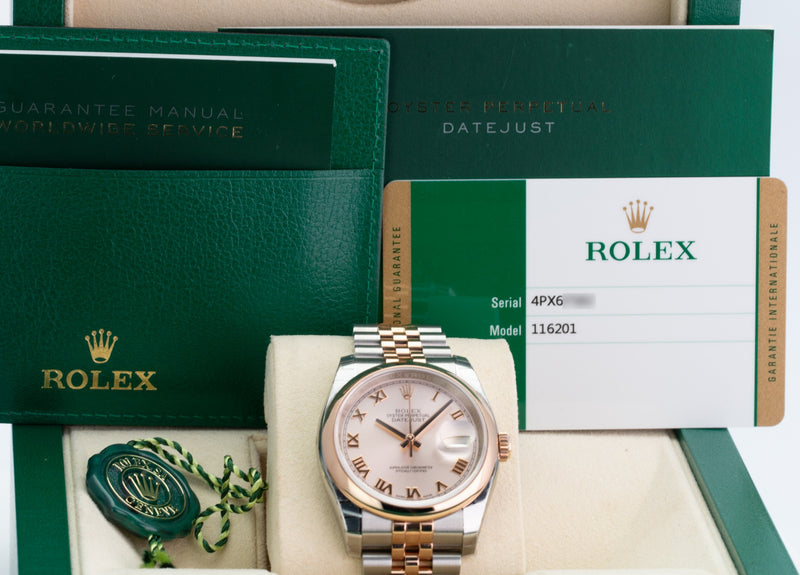 Unworn Rolex Datejust 116201 - LSM WATCH