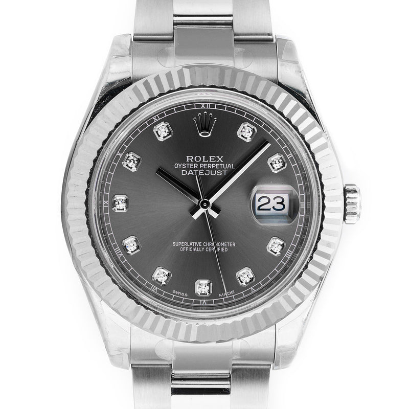 Unworn Rolex Datejust II 116334 - LSM WATCH
