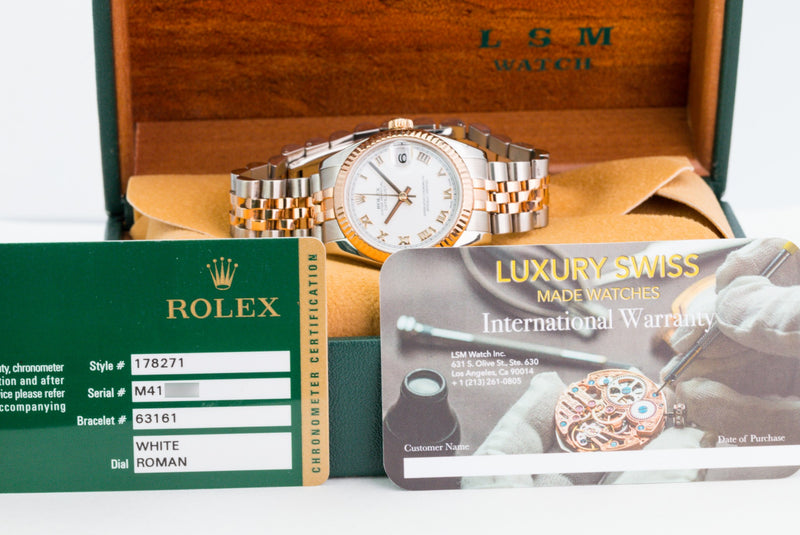 Pre-Owned Rolex Lady Datejust 178271 - LSM WATCH