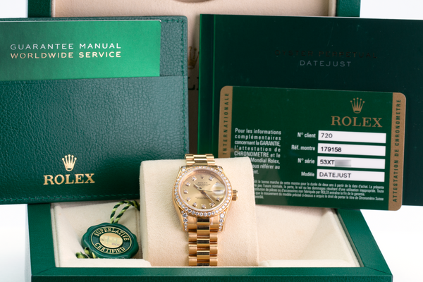 Unworn Rolex Lady Datejust 179158 - LSM WATCH