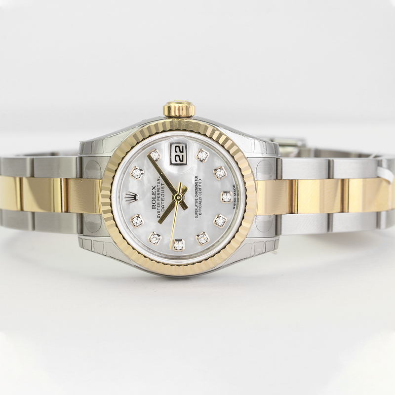 Unworn Rolex Lady Datejust 179173 - LSM WATCH