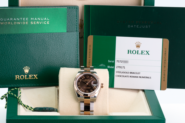 Unworn Rolex Lady Datejust 279171 - LSM WATCH