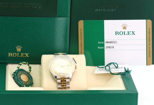 Unworn Rolex Lady Datejust 279173 - LSM WATCH