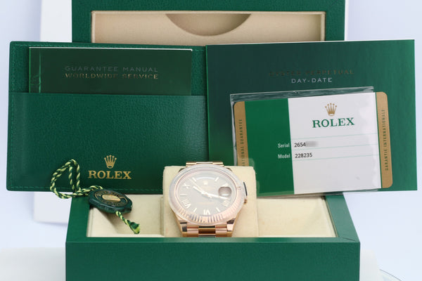 Unworn Rolex Day-Date 228235 - LSM WATCH