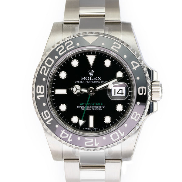 Unworn Rolex GMT-Master II 116710LN - LSM WATCH