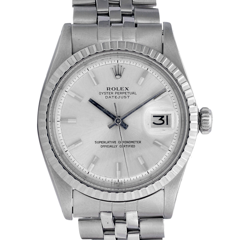 Pre-Owned Men's Rolex Datejust 1601 - LSM WATCH