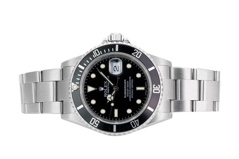 Pre-Owned Rolex Submariner 16610T - LSM WATCH
