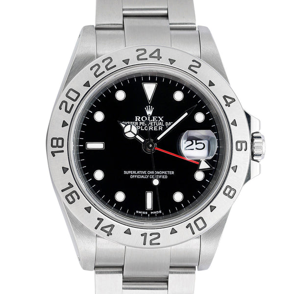 Pre-Owned Rolex Explorer II 16570 - LSM WATCH