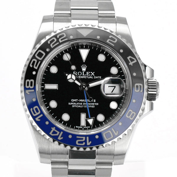 Pre-Owned Rolex GMT-Master II 116710 - Batman - LSM WATCH