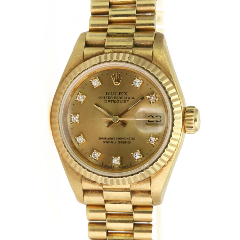 Pre-Owned Rolex Lady Datejust 69178 - LSM WATCH