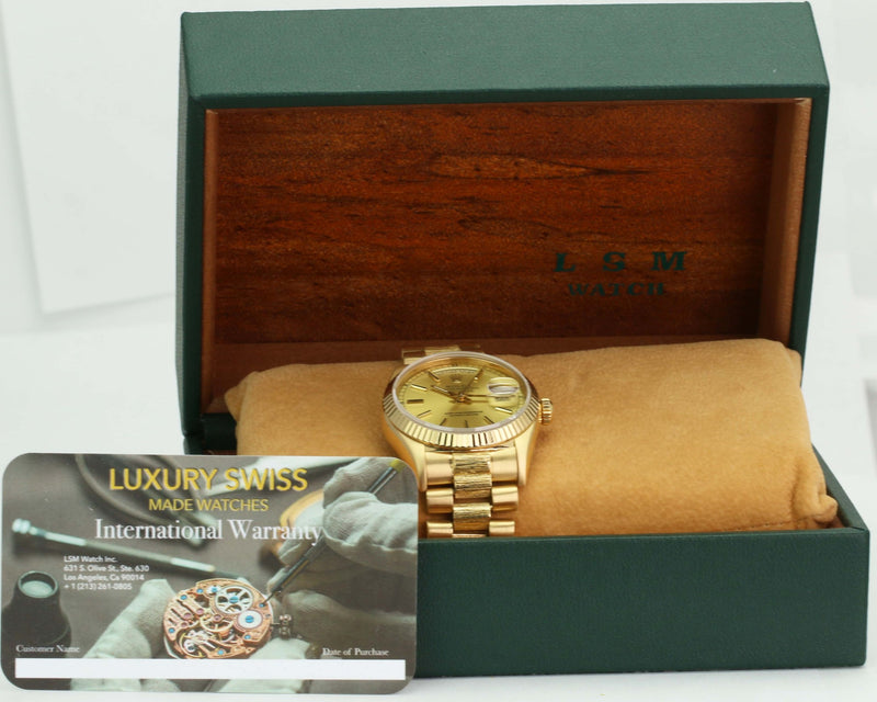 Pre-Owned Rolex Day-Date 18078 - LSM WATCH