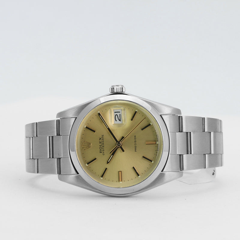 Pre-Owned Rolex Oysterdate Precision 6694