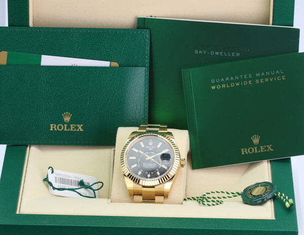 Unworn Rolex Sky-Dweller 326938 - LSM WATCH