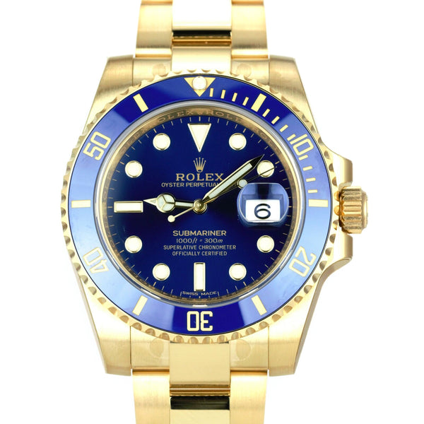 Unworn Rolex Submariner 116618LB - LSM WATCH