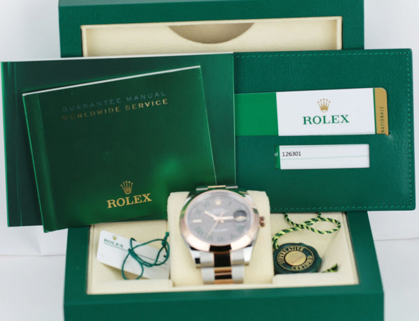 Unworn Rolex Datejust II 126301 - LSM WATCH