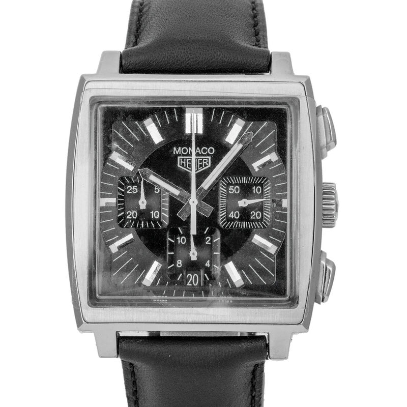 Pre-Owned Tag Heuer Monaco Chronograph CS2111 - LSM WATCH
