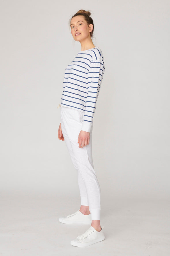Lulu Organics 'New Jersey' Sweater - Stripe