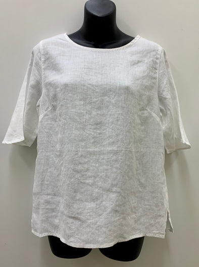 See Saw '4458' Top - White