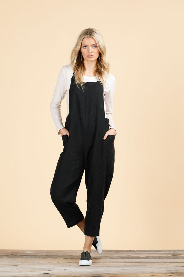 The Shanty 'Colmar Overalls' - Black