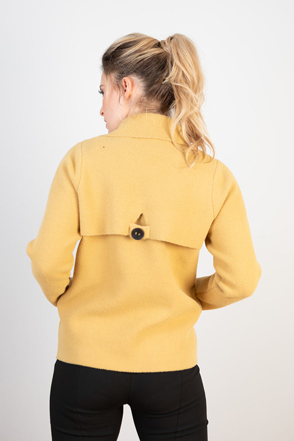 JJ Sisters 'Z144Y' Jacket - Yellow