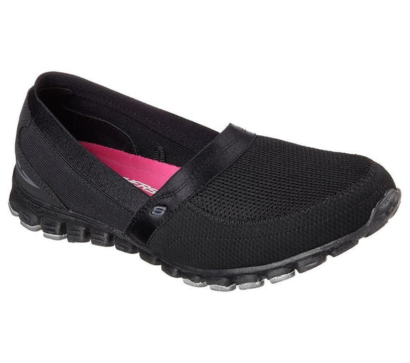 Skechers 'Ez Flex Take it Easy' - Black/Black