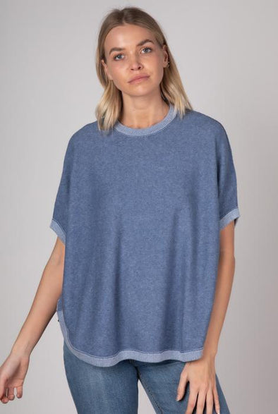 Z&P Weekend 'On The Go' Poncho - Chambray