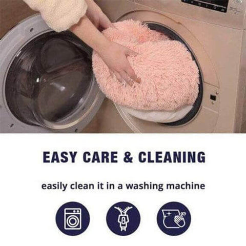Calming Pet Bed Easy Cleaning
