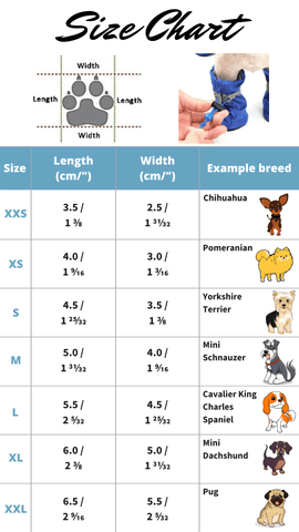 Size Chart The Happy Cerberus