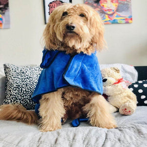 Deluxe Dog Bathrobe