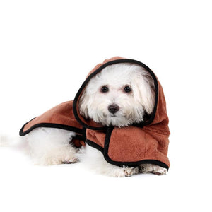 Deluxe Dog Bathrobe - The Happy Cerberus