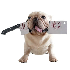 Dog Halloween Headband - Cleaver
