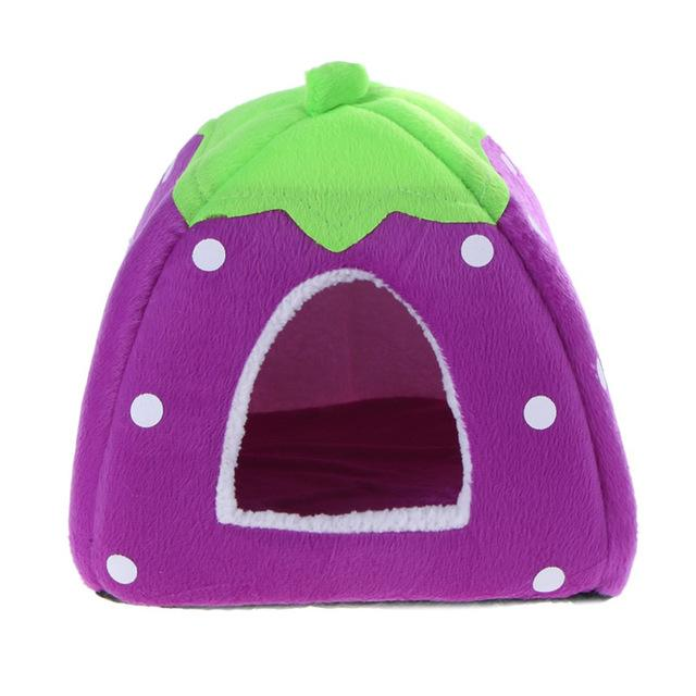 Springtime Pet House - Purple - The Happy Cerberus