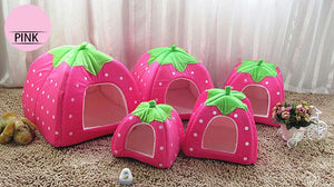 Springtime Pet House - Pink - The Happy Cerberus