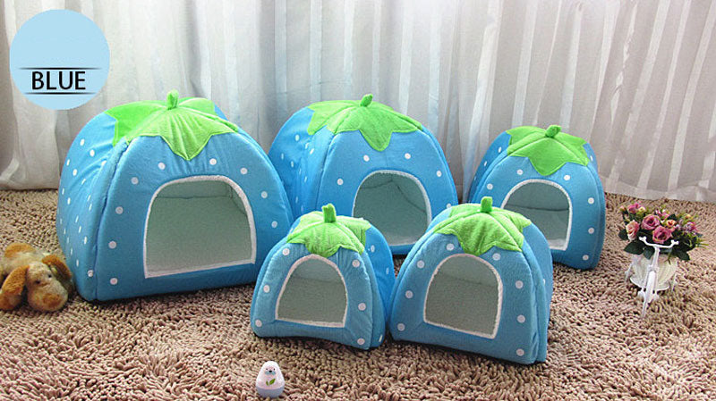 Springtime Pet House - Blue