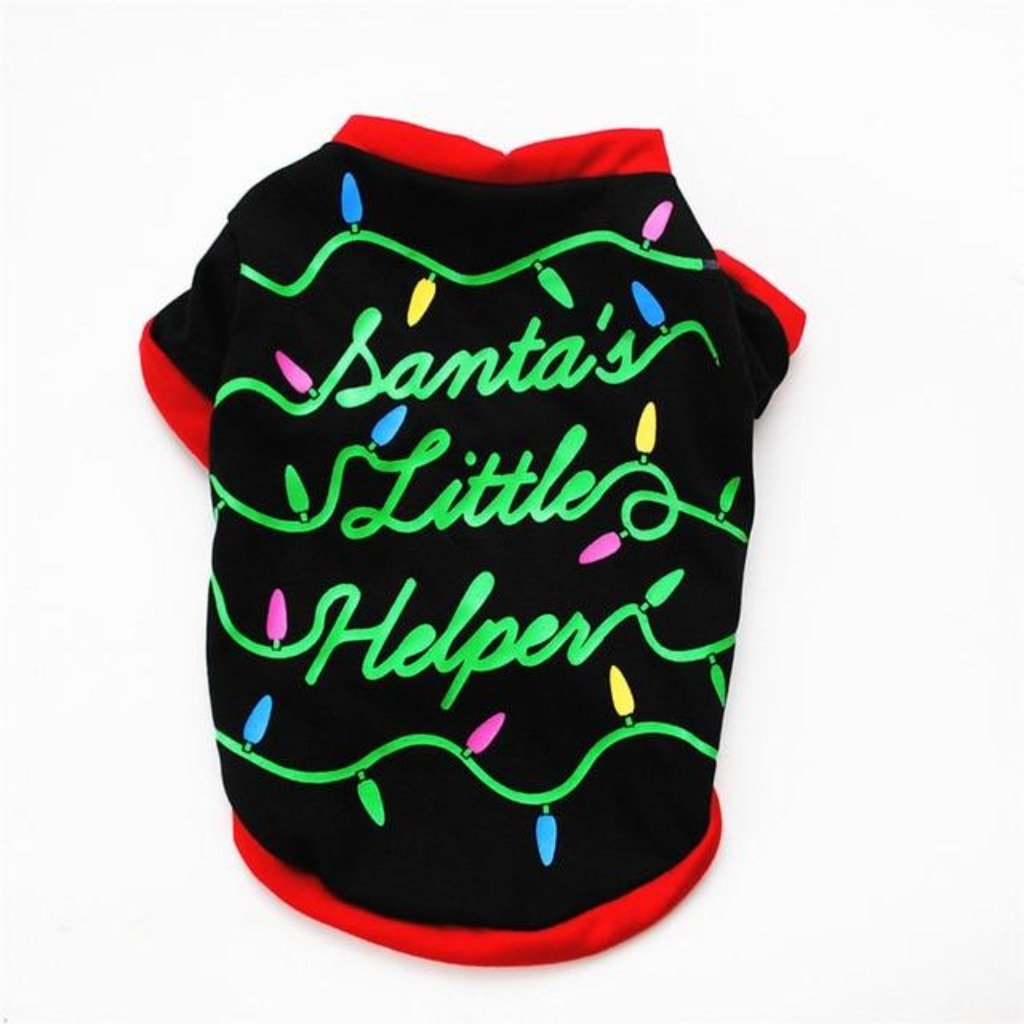 Santa's Little Helper Sweater - The Happy Cerberus
