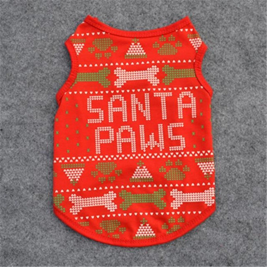 Santa Paws Sweater - The Happy Cerberus