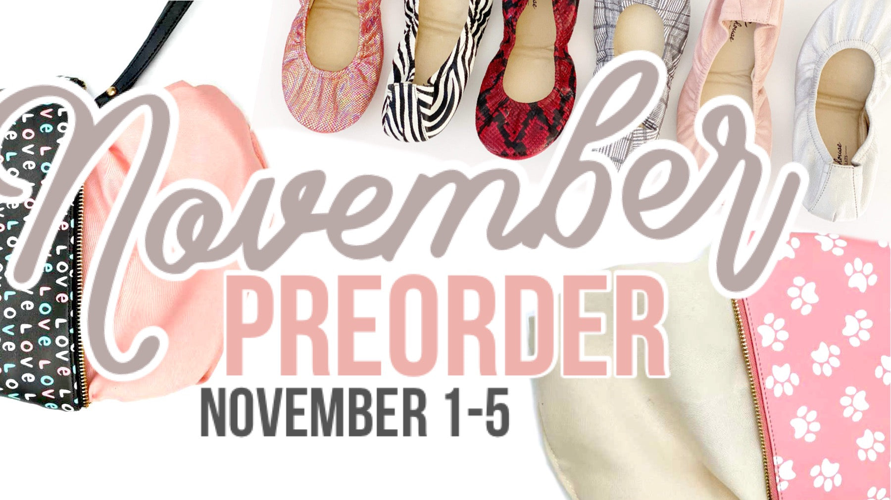 Storehouse Flats November Collection