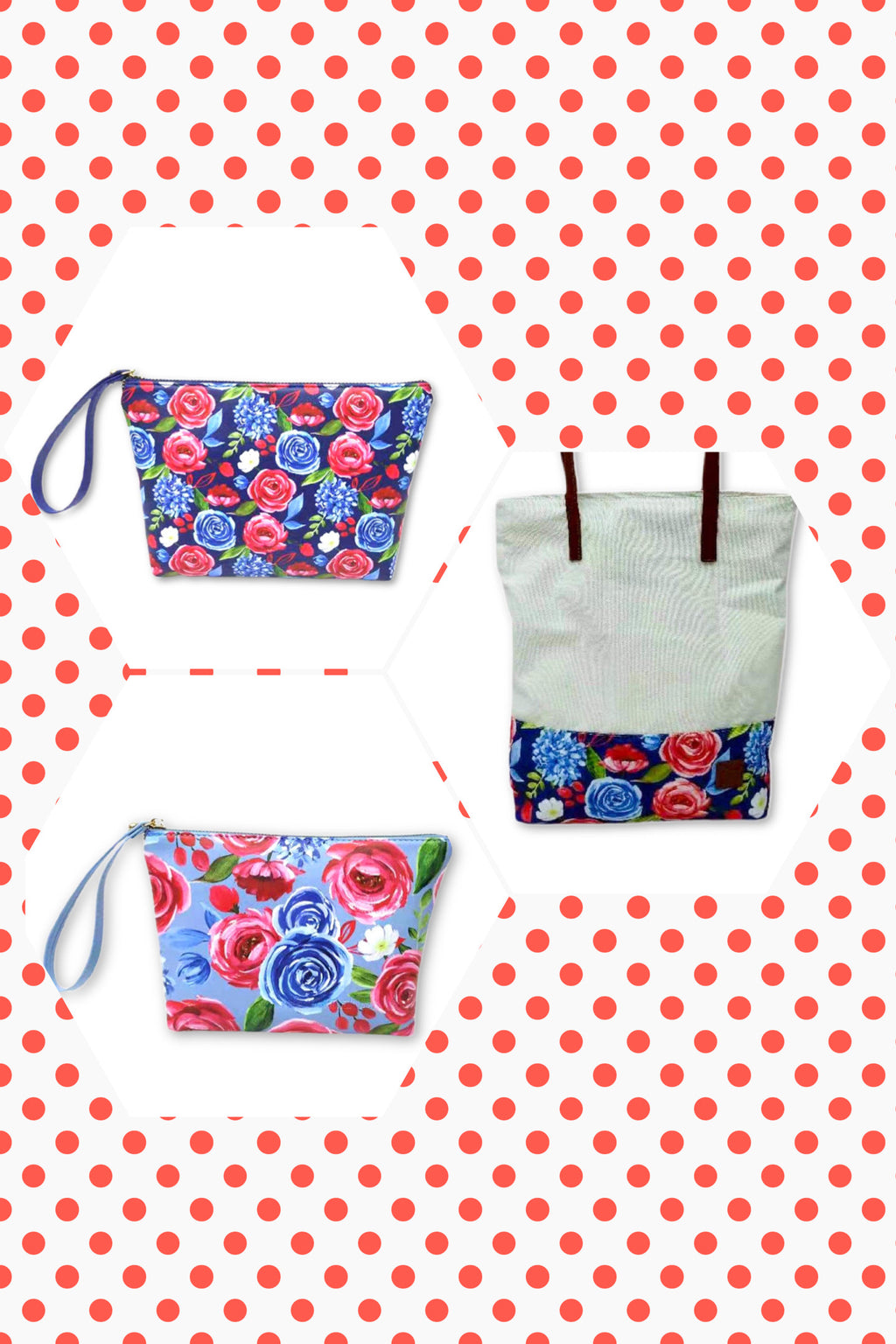 FREEDOM FLORAL BAGS | PREORDER FOR PURCHASE - The Storehouse Flats