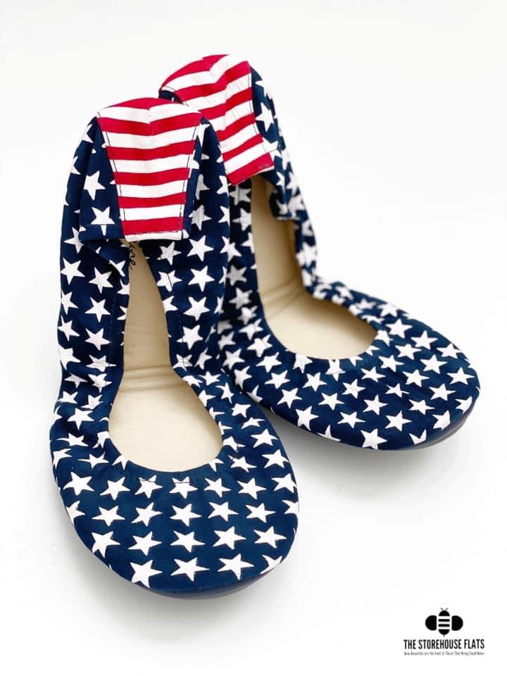 STARS & STRIPES | IN STOCK - 48HR SALE - The Storehouse Flats