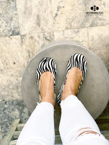 ZEBRA | IN STOCK - The Storehouse Flats