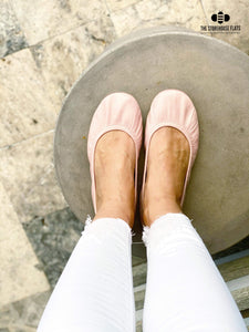 BALLET PINK OIL TANNED | IN STOCK - The Storehouse Flats