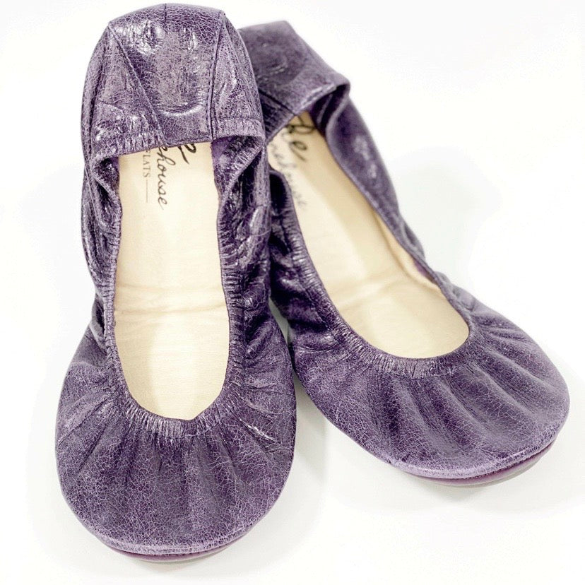 VINTAGE PURPLE OIL TANNED | IN STOCK - The Storehouse Flats