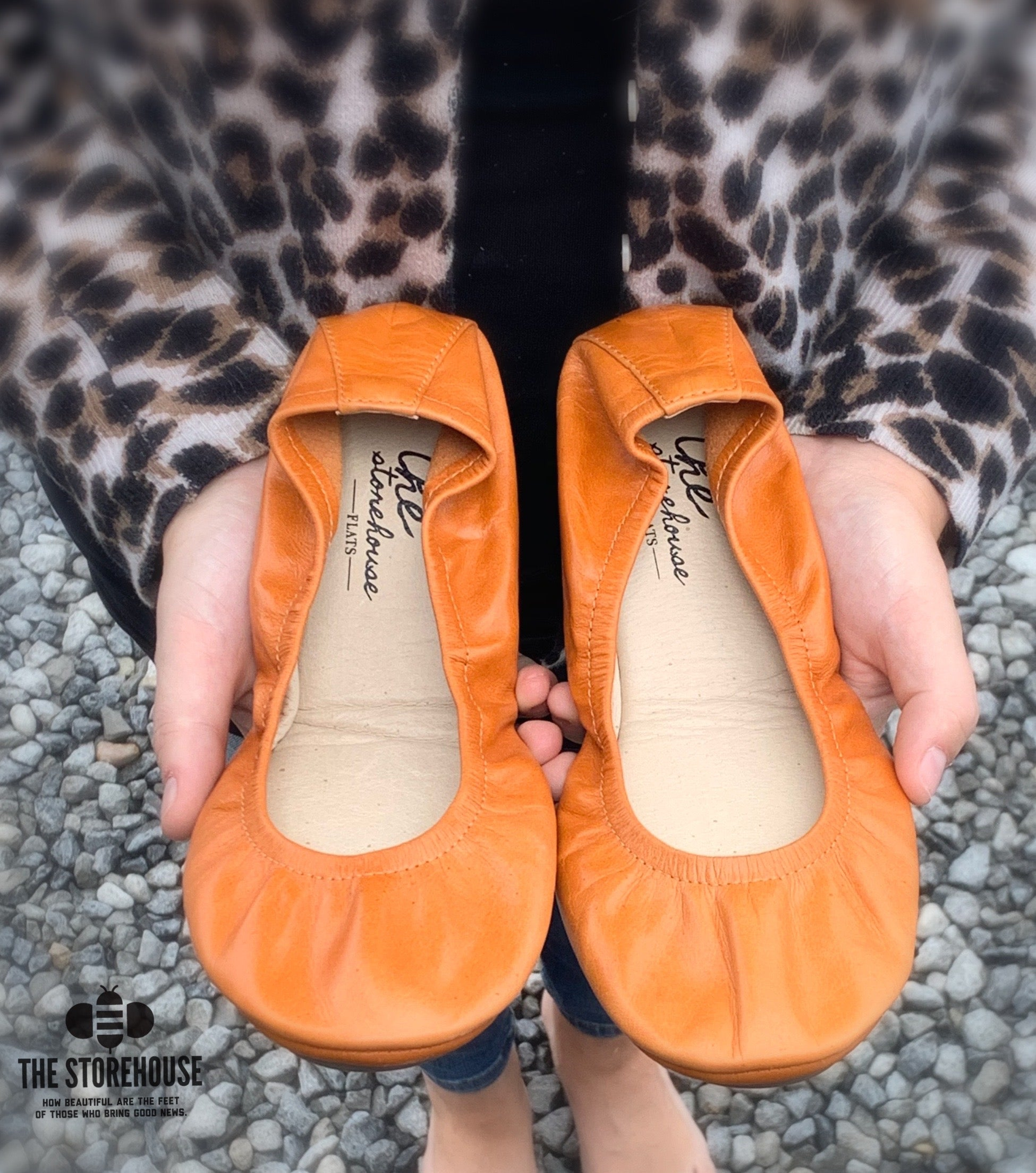 PUMPKIN SPICE OIL TANNED |  IN STOCK - The Storehouse Flats