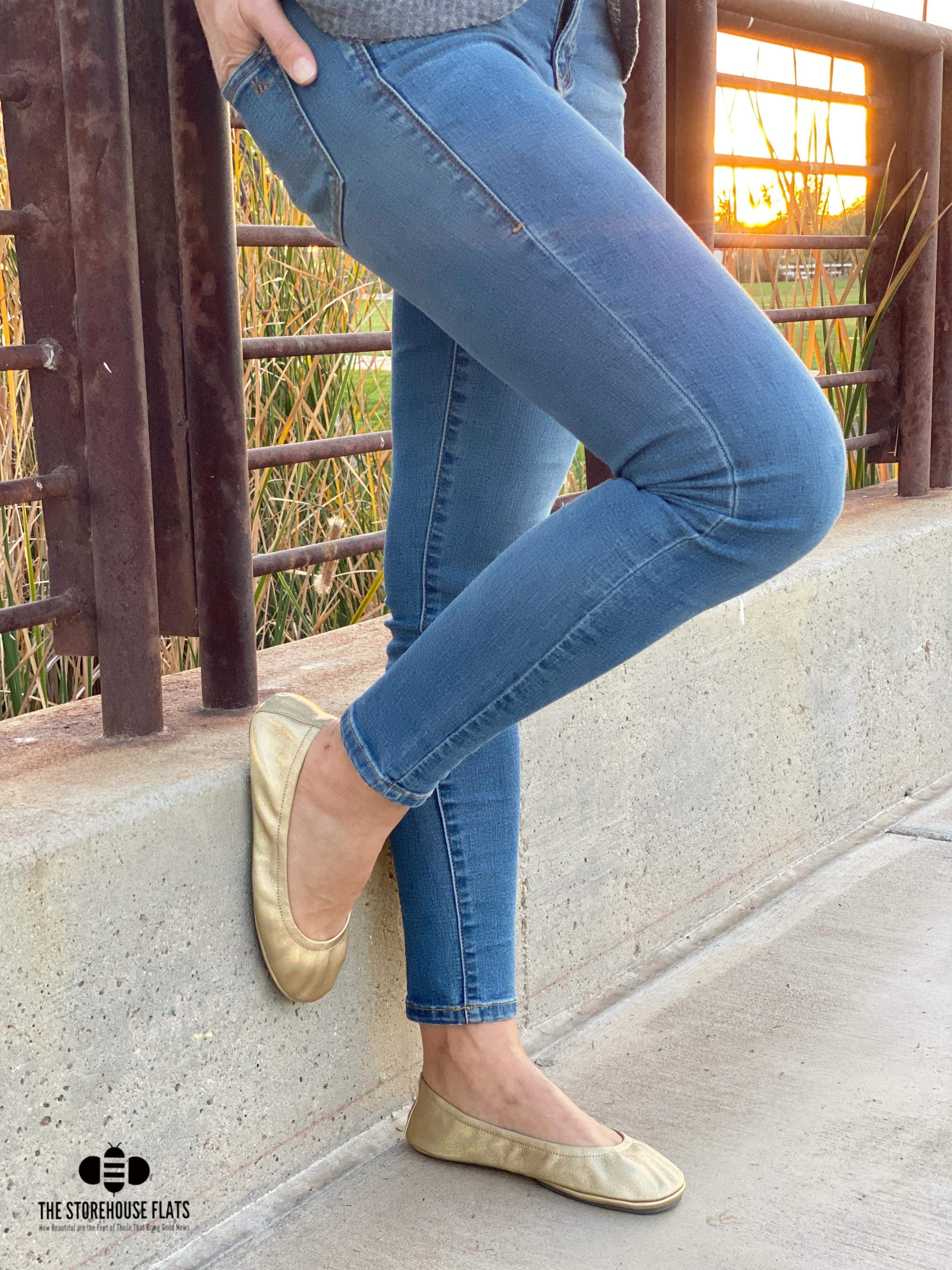 GOLDEN RAINBOW | IN STOCK - The Storehouse Flats