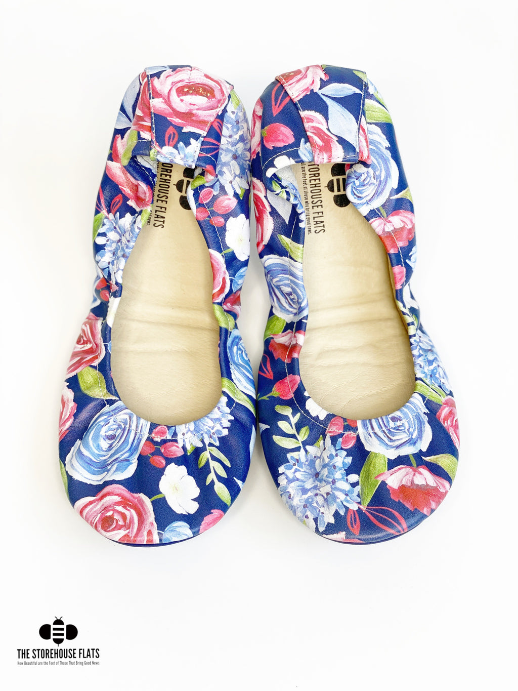 FREEDOM FLORAL DARK BLUE | SPECIAL PREORDER - The Storehouse Flats