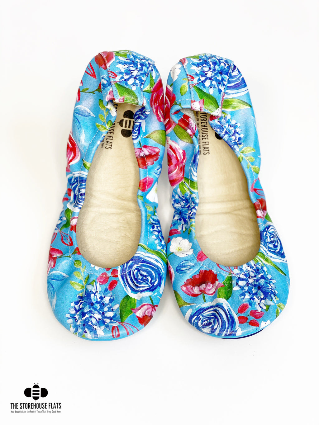 FREEDOM FLORAL LIGHT BLUE | SPECIAL PREORDER - The Storehouse Flats