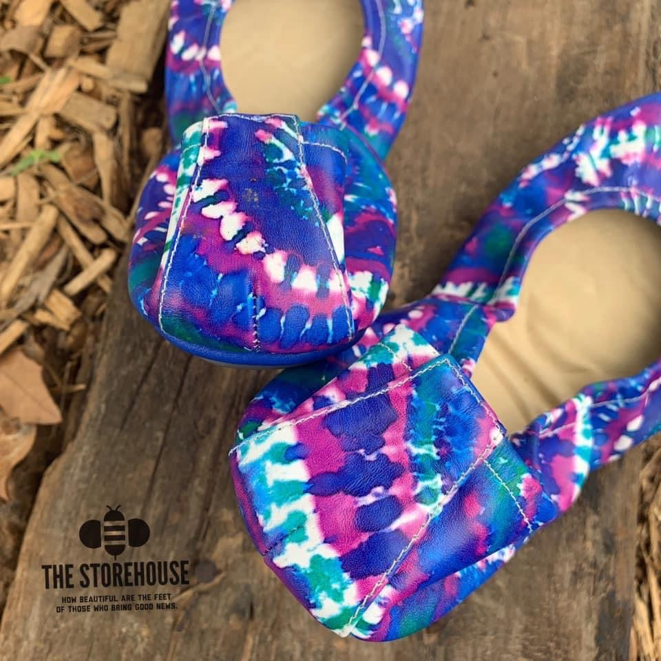 TIDAL POOL | TIE DYE - In stock, ship now - The Storehouse Flats
