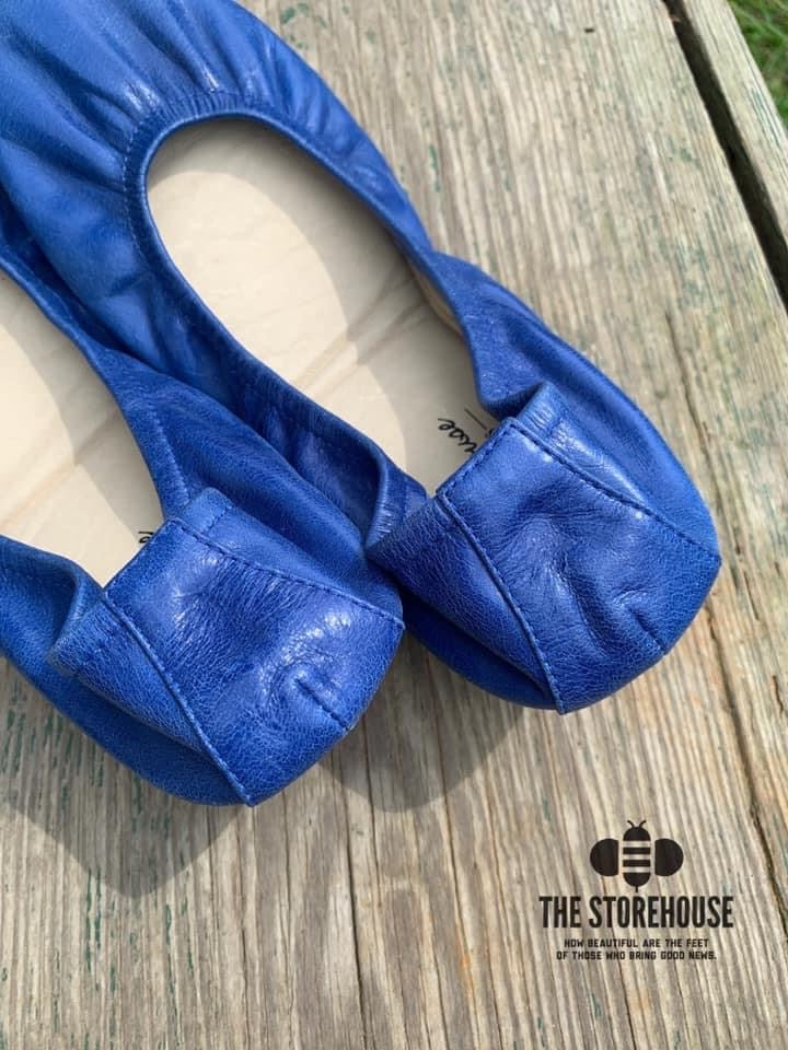 COBALT BLUE (Oil Tanned)- In-stock, ship now - The Storehouse Flats
