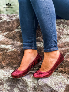 Cranberry Foil | IN-STOCK - The Storehouse Flats