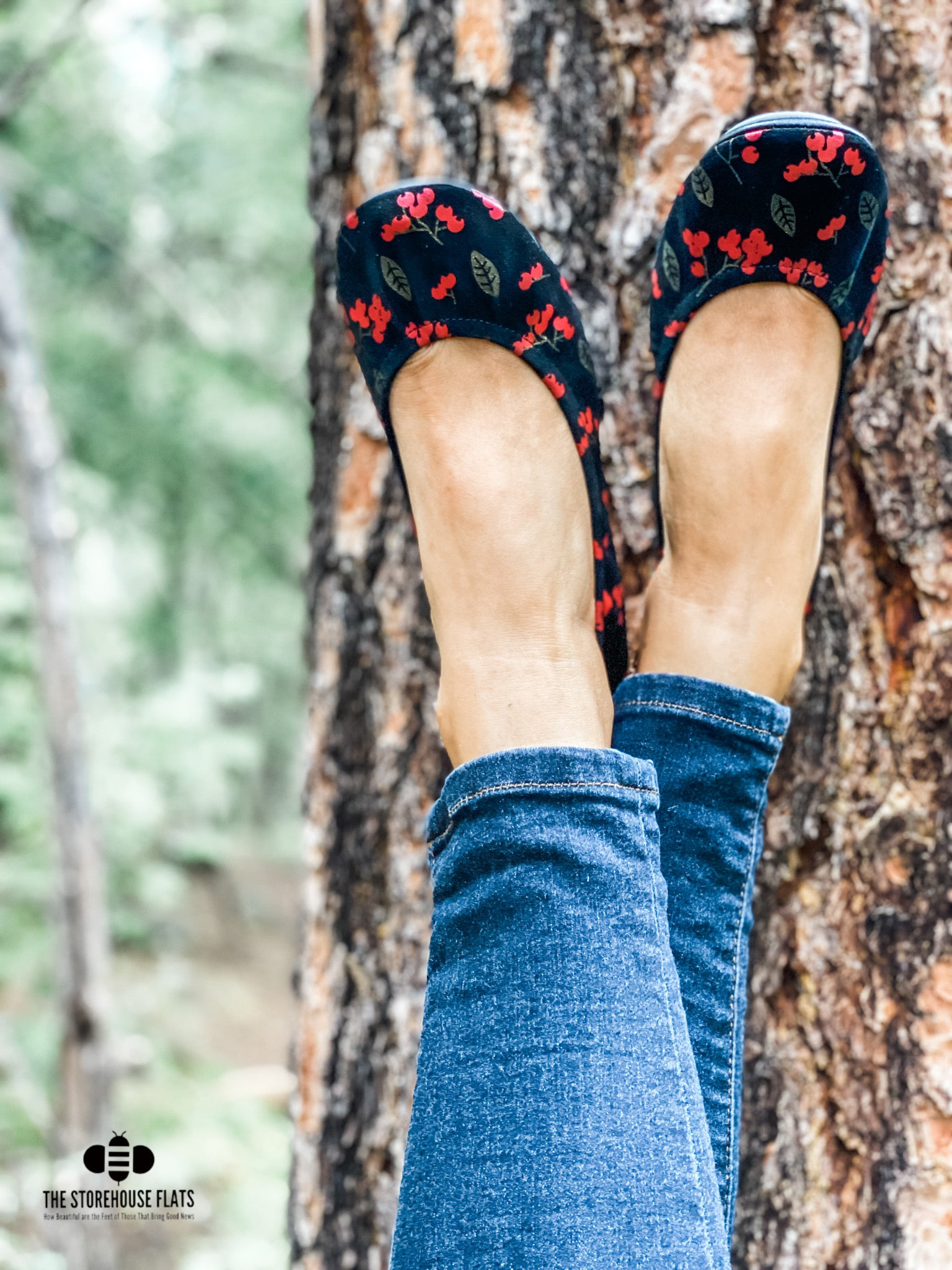Nandina Berry Suede | IN-STOCK - The Storehouse Flats
